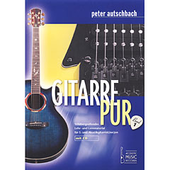 Acoustic Music Books Gitarre Pur (Band 1). Stilübergreifendes Lehr- u. Lernmaterial für E- u. Akustik « Manuel pédagogique