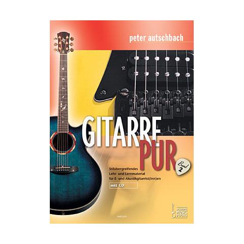 Lehrbuch Acoustic Music Books Gitarre Pur (Band 2) - Stiluebergreifendes Lehr-u. Lernmaterial für E- u. Akustik