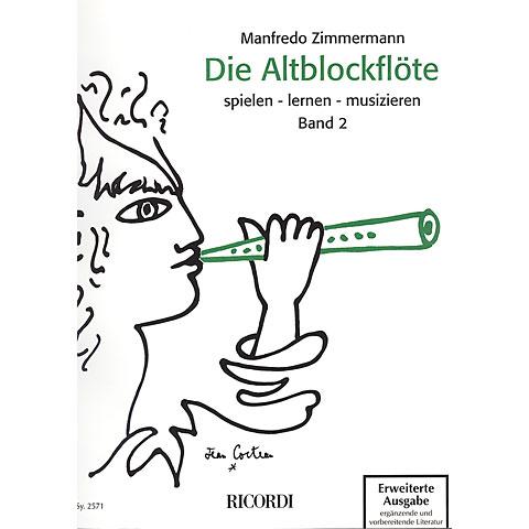 Ricordi Die Altblockflöte Bd.2