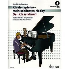 Schott Klavierspielen - mein schönstes Hobby Der Klassikband « Bladmuziek