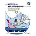 Notenbuch Schott Klavierspielen - mein schönstes Hobby Wunschmelodien