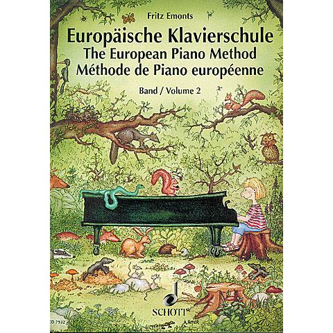Schott Europäische Klavierschule Bd.2