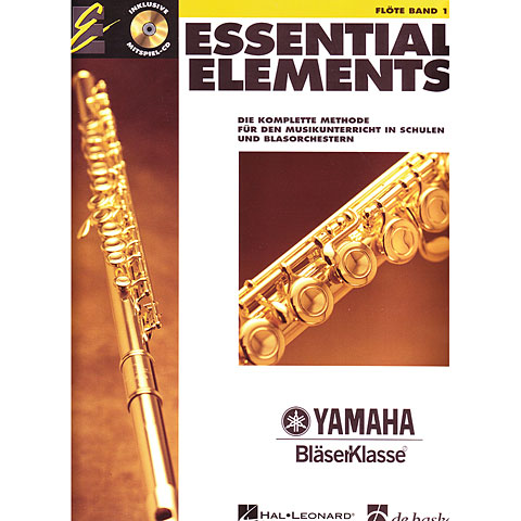 Instructional Book De Haske Essential Elements Band 1 - für Querflöte