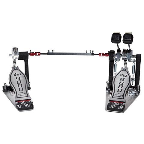 Bassdrumpedaal DW 9000 Series DWCP9002PC Double Bass Drum Pedal