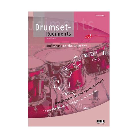 Libros didácticos AMA Drumset Rudiments