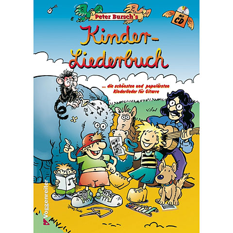 Voggenreiter Peter Bursch's Kinderliederbuch + CD