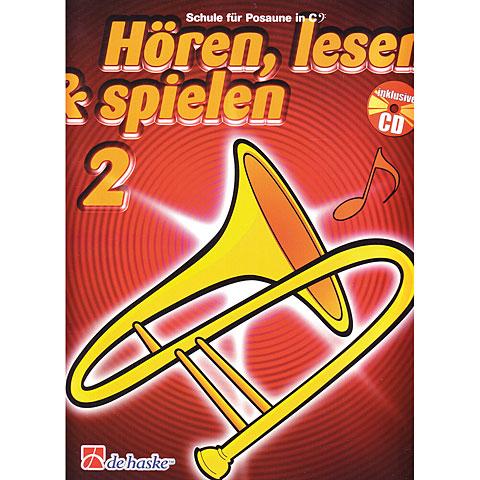 Manuel pédagogique De Haske Hören,Lesen&Spielen Bd. 2 für Posaune in C