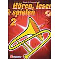 Libro di testo De Haske Hören,Lesen&Spielen Bd. 2 für Posaune in C