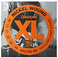 Corde guitare électrique D'Addario EXL110-3D Nickel Wound .010-046