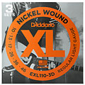 D'Addario EXL110-3D Nickel Wound .010-046 « Corde guitare électrique