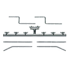 Meinl Mounting Bar, 6 Pcs. « Perches/extensions percussion