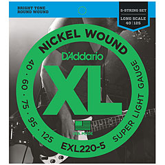D'Addario EXL220-5 Nickel Wound .040-125 « Saiten E-Bass