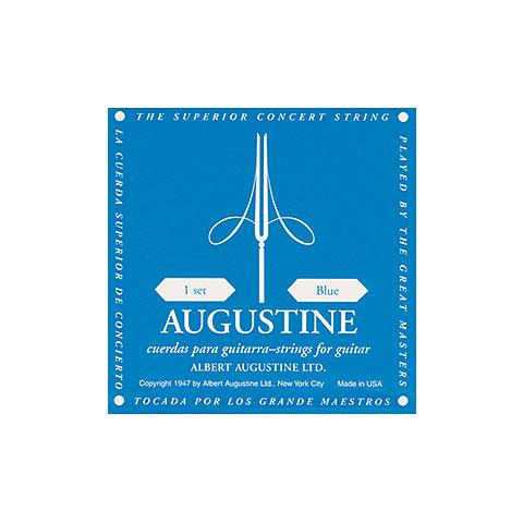 Enkelzijdige Klassieke gitaar Augustine Classic Blue G3