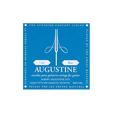 Einzelsaite Konzertgitarre Augustine Classic Blue D4