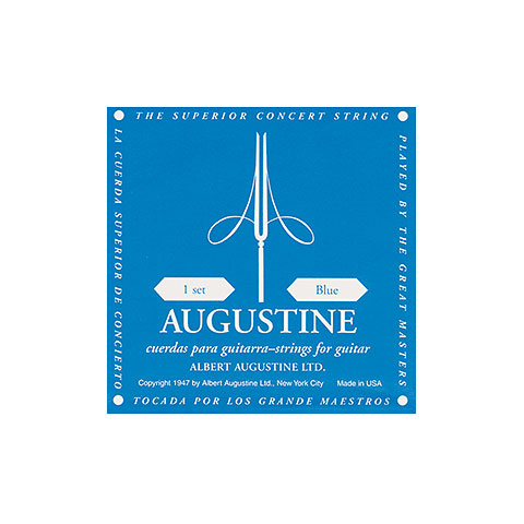 Single string Acoustic Guitar Augustine Classic Blue A5
