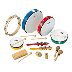 Nino Percussion Assortment 12 Pcs. « Percussion Set