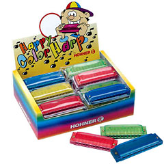 Hohner Happy Color Harp « Diatonische-harmonica