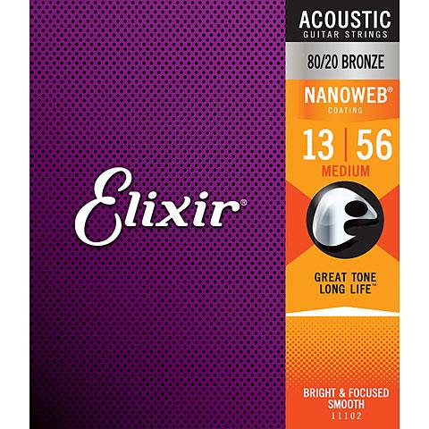 Elixir Nanoweb Bronze Medium .013-056