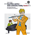 Libros didácticos Schott Querflöte spielen - mein schönstes Hobby Bd.2