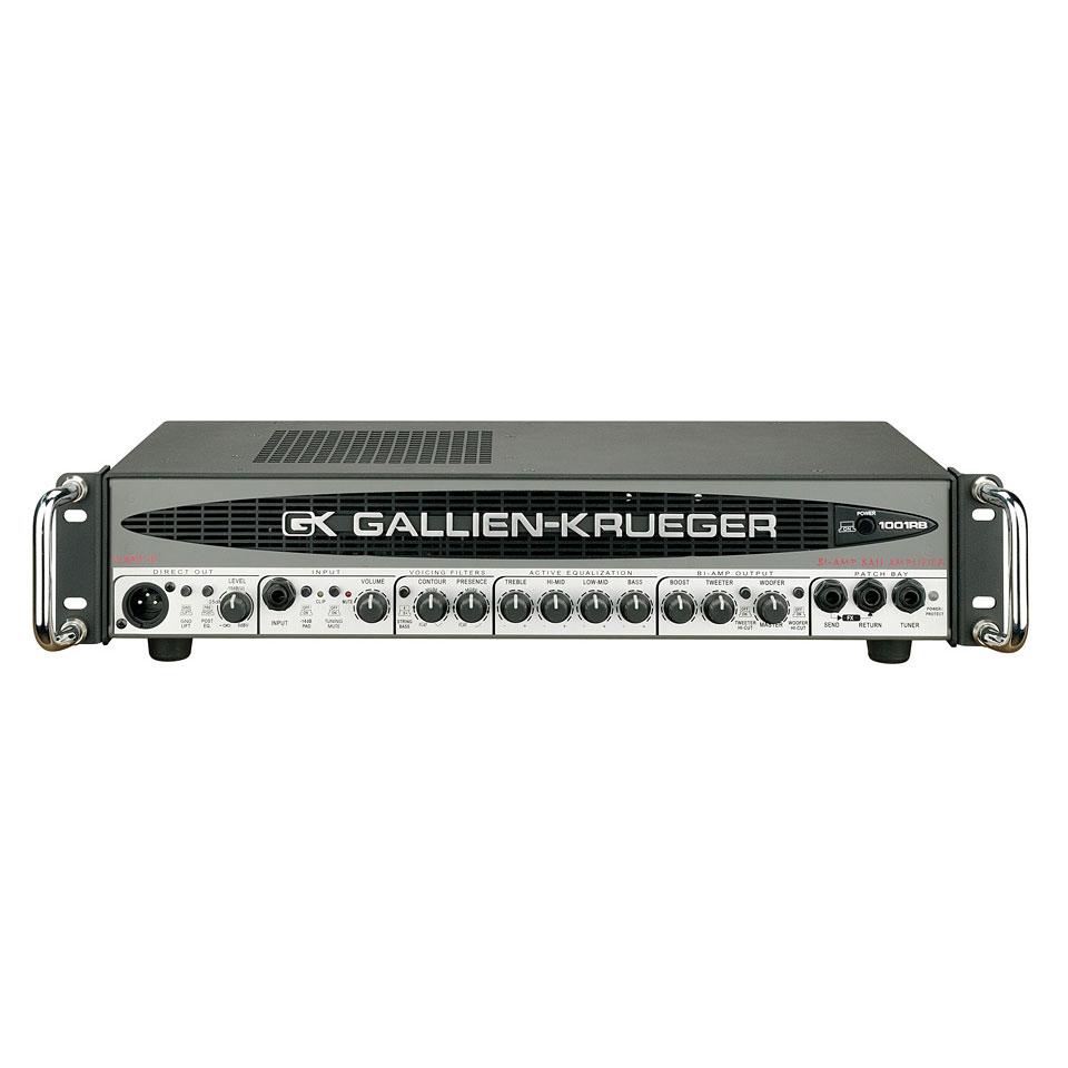 Verstaerker - Gallien Krueger 1001 RB Topteil E Bass - Onlineshop Musik Produktiv
