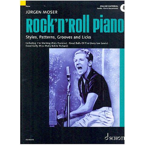 Libros didácticos Schott Rock`n`Roll Piano