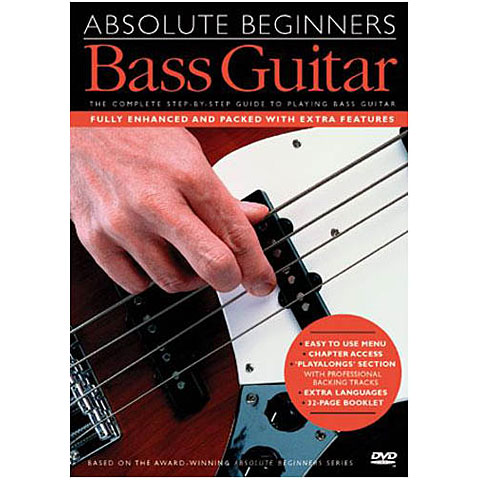 DVD Music Sales Absolute Beginners Bass Guitar