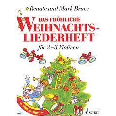 Schott Das fröhliche Weihnachtslieder für 2-3 Violinen « Music Notes
