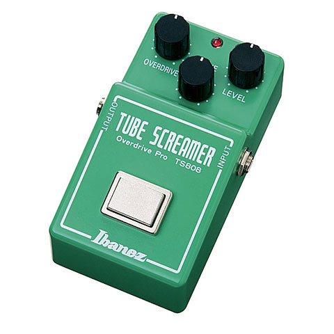 Pedal guitarra eléctrica Ibanez TS808 Tube Screamer Overdrive Pro