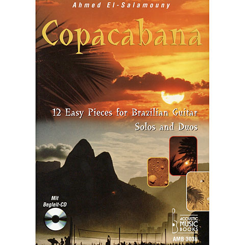 Notenbuch Acoustic Music Books Copacabana