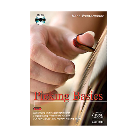 Libros didácticos Acoustic Music Books Picking Basics Bd.1