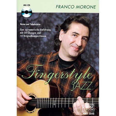 Manuel pédagogique Acoustic Music Books Fingerstyle Jazz