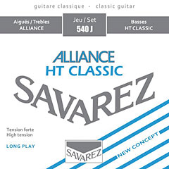 Savarez Alliance HT Classic 540 J « Classical Guitar Strings