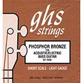 Struny do basu akustycznego GHS 9200 L