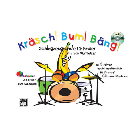 Libro para niños Alfred KDM Kräsch! Bum! Bäng!