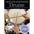 Libros didácticos Bosworth Nur für Anfänger Drums