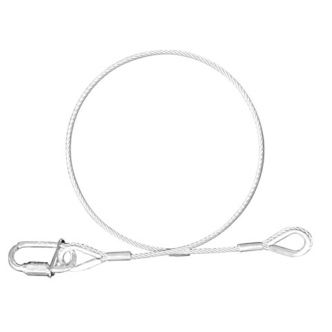 Riggingmaterial Expotruss Safety wire 4 mm, 100 cm
