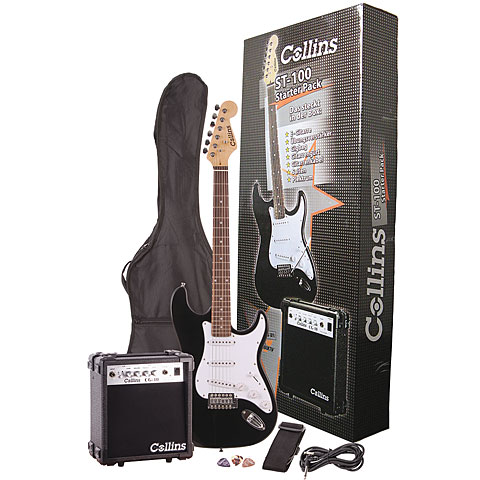 Collins RockGuitar ST100P
