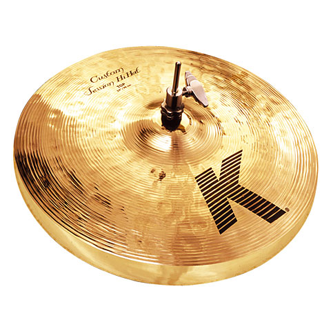 "Hi Hat Zildjian K Custom 14"" Session HiHat"