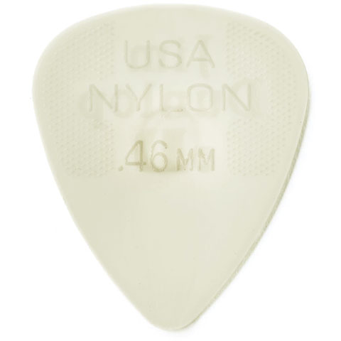 Plektrum Dunlop Nylon Standard 0,46mm (12Stck)