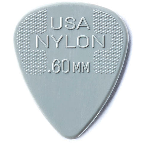 Plektrum Dunlop Nylon Standard 0,60mm (12Stck)