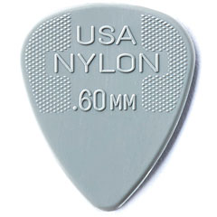 Dunlop Nylon Standard 0,60mm (12Stck) « Médiators