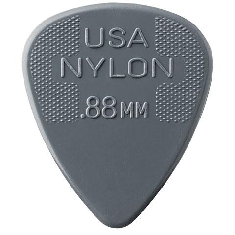 Plektrum Dunlop Nylon Standard 0,88mm (12Stck)
