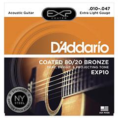 D'Addario EXP10 .010-047 « Corde guitare folk