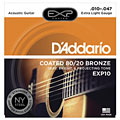 Saiten Westerngitarre D'Addario EXP10 .010-047