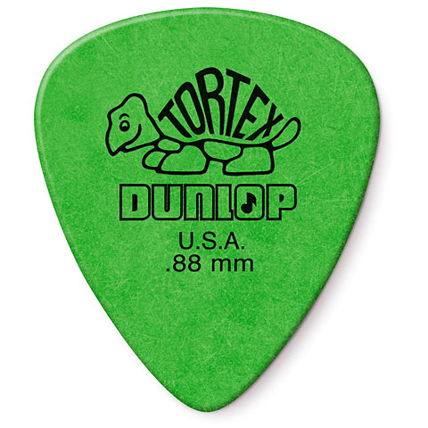 Médiators Dunlop Tortex Standard 0,88mm (12Stck)