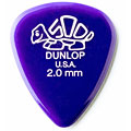 Plektrum Dunlop Delrin Standard 2,00mm (12Stck)