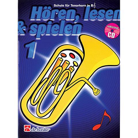 De Haske Hören,Lesen&Spielen Bd. 1 für Tenorhorn/Euphonium in B