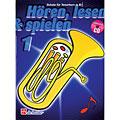 Lehrbuch De Haske Hören,Lesen&Spielen Bd. 1 für Tenorhorn/Euphonium in B