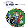 Notböcker Schott Klavierspielen - mein schönstes Hobby Lieder & Songs