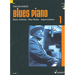 Schott Blues Piano Bd.1 « Manuel pédagogique
